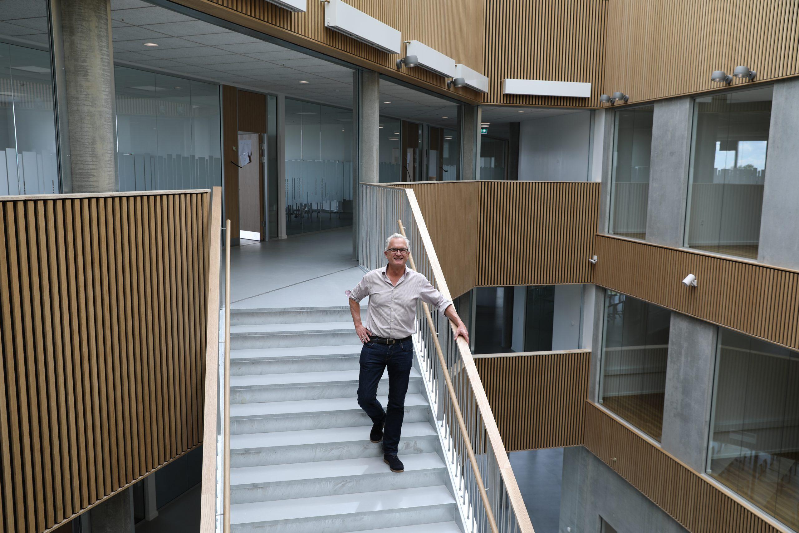 Studiestart i ny bygning